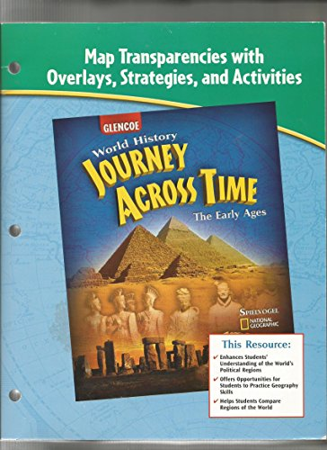 9780078684555: Map Transparencies with Overlays, Strategies, and Activities for Glencoe