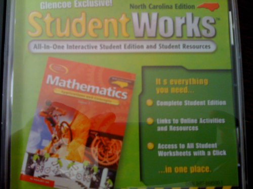 9780078685002: MATHEMATICS:APPLICATIONS AND CONCEPTS, COURSE 1/STUDENTWORKS/NORTH CAROLINA EDITION