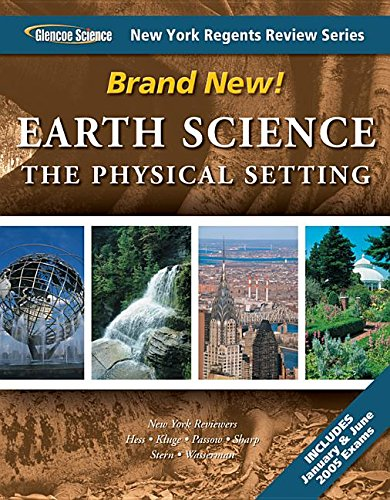 Earth Science the Physical Setting New York: Kluge, Passow, Sharp,