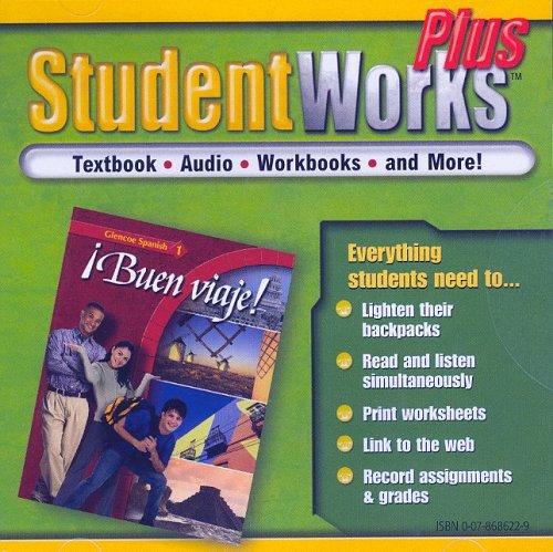 9780078686221: ¡Buen viaje! Level 1, StudentWorks Plus CD-ROM