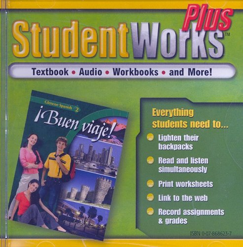 9780078686238: ¡Buen viaje!, Level  2, StudentWorks Plus CD-ROM