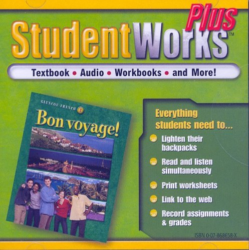 9780078686580: Bon voyage! Level, 2, StudentWorks Plus CD-ROM