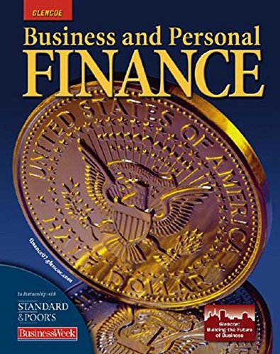 9780078687129: Business and Personal Finance, Student Edition (PERSONAL FINANCE (RECORDKEEP))