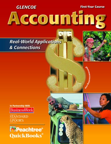 9780078688294: Glencoe Accounting: First Year Course, Student Edition