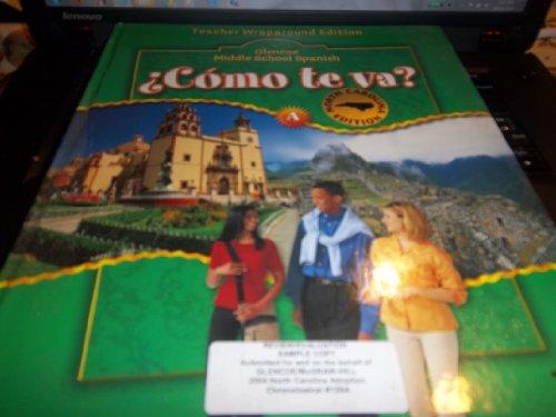 9780078689123: Como te va? Level A verde Teacher's Edition