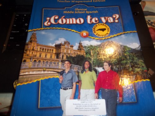 Como te va? Level B azul Teacher's Edition: Conrad J. Schmitt