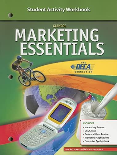 Marketing Essentials, Student Activity Workbook: McGraw-Hill