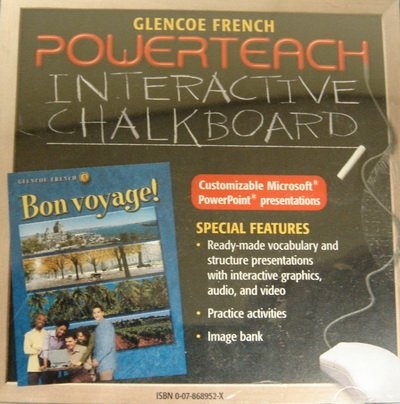 Powerteach Interactive Chalkboard CD-ROM for Bon voyage!: Glencoe