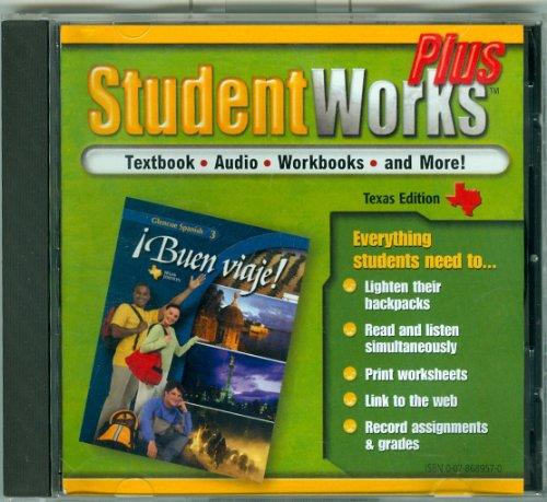 9780078689574: Student Works Plus - Buen Viaje 3 - Texas Edition - Windows/MAC program - v 1.2