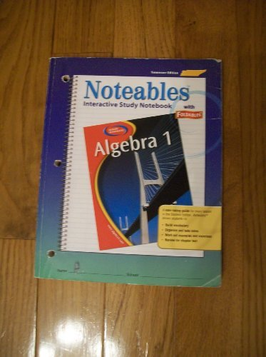 9780078690150: Noteables Interactive Study Notebook with Foldables- Tennessee Edition