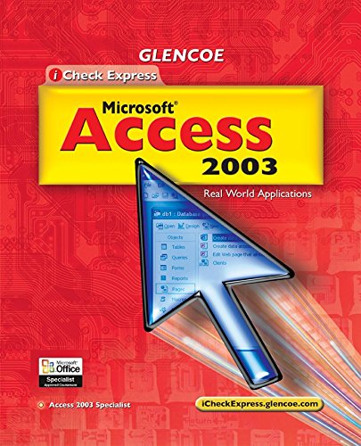 9780078690365: iCheck Series: Microsoft Office Access 2003, Quick Study, Student Edition