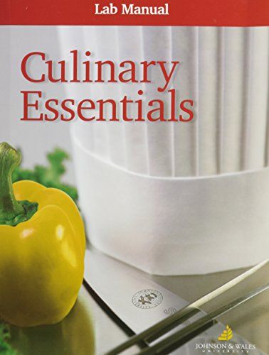 9780078690716: Culinary Essentials, Lab Manual