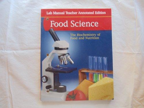 9780078690839: Glencoe: Food Science - Lab Manual Teacher Annotated Edition