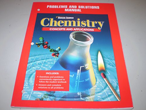 9780078690884: Problems and Solutions Manual (Chemistry: Concepts and Applications)