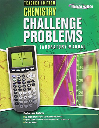 9780078690914: Chemistry Challenge Problems Laboratory Manual - Teacher Edition