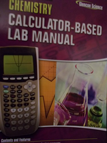 9780078690945: Chemistry Calculator Based Lab Manual: Teacher Edition