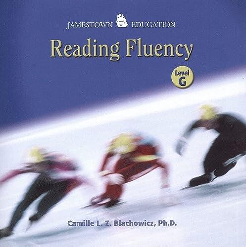 9780078691232: Reading Fluency, Level G Audio CD (JT: READING RATE & FLUENCY)