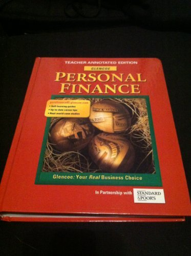 9780078692154: Personal Finance: Teachers Annotated Edition