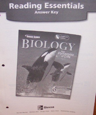 9780078692260: Reading Essentials Answer Key (Biology: The Dynamics of Life)
