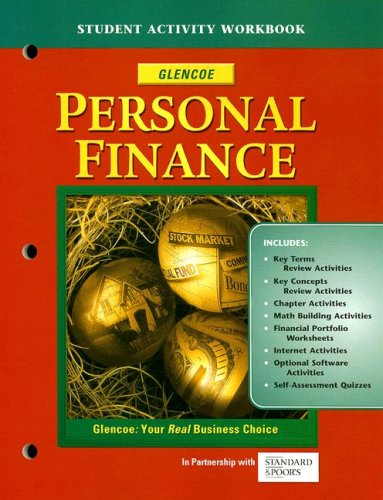 9780078692895: Personal Finance, Student Activity Workbook