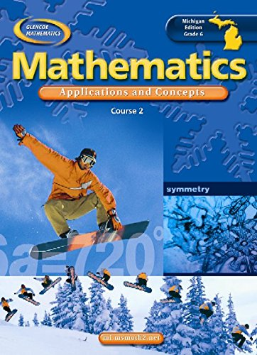 9780078693489: MI Grade 6 Mathematics: Applications and Concepts, Course 2, Student Edition
