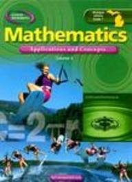 9780078693496: MI Grade 7 Mathematics: Applications and Concepts, Course 3, Student Edition (Glencoe Mathematics)