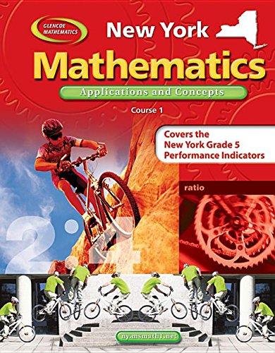 9780078693533: Glencoe Mathematics: Applications and Concepts (New York Edition)