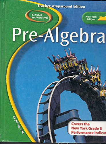 9780078693632: Pre-Algebra (Teacher Wraparound Edition)