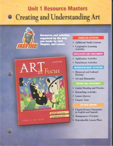 9780078694066: Art in Focus Unit 1 Resource Masters (Art in Focus, unit 1)