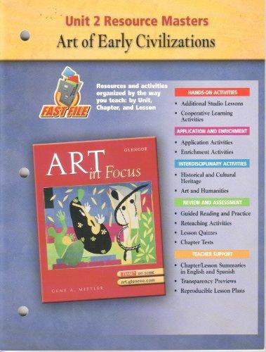 9780078694073: Art in Focus Unit 2 Resource Masters (Art in Focus, Unit 3)