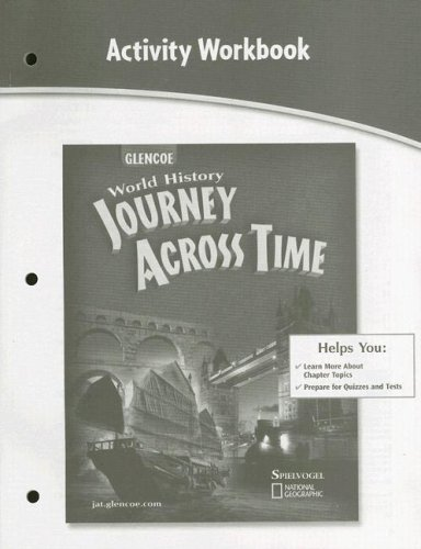 9780078694790: Journey Across Time Activity Workbook