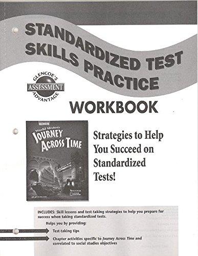 9780078694837: Journey Across Time: Standardized Test Skills Practice Workbook