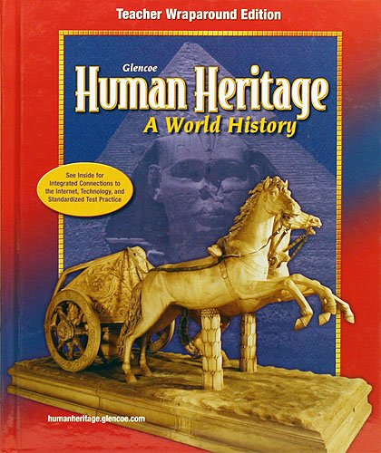 9780078695018: Human Heritage World History: Teachers Wraparound Edition