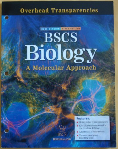 9780078697326: Bscs Biology: Overhead Transparencies
