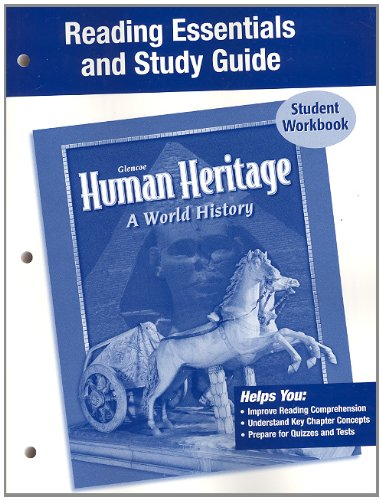 9780078697937: Human Heritage, Reading Essentials and Study Guide, Workbook
