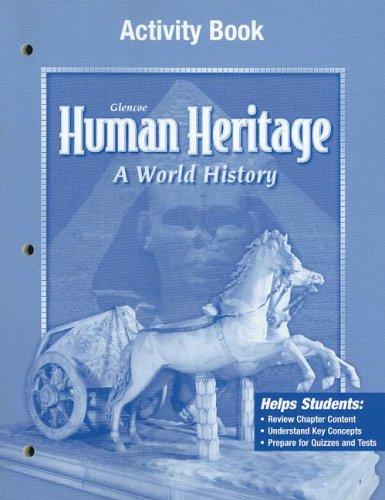 9780078697968: Human Heritage, Activity Workbook, Student Edition