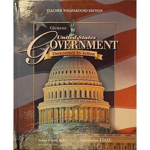 9780078698293: United States Government Democracy In Action Teacher Wraparound Edition/Utah Edition