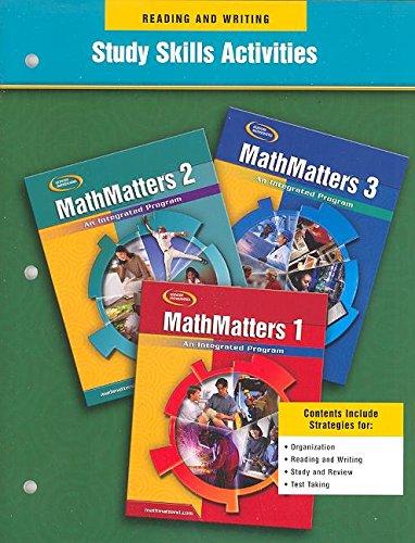 9780078698545: Mathmatters: An Integrated Pro