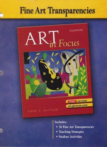 Glencoe Art in Focus Fine Art Transparencies: Mittler, Gene A.