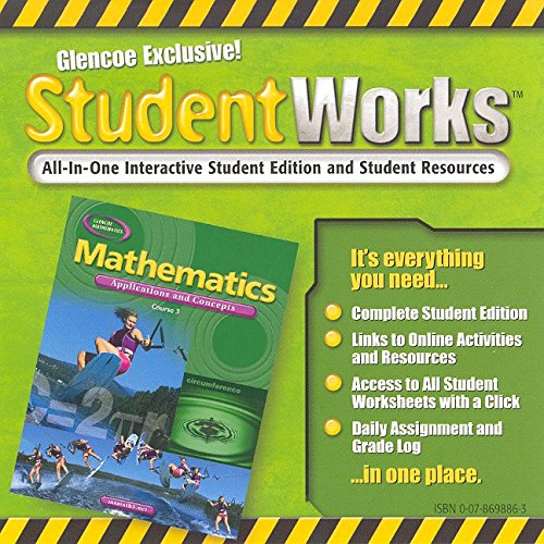 9780078698866: Mathematics: Applications and Concepts, Course 3, StudentWorks CD-ROM (MATH APPLIC & CONN CRSE)