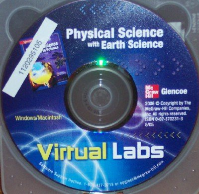 9780078702310: Physical Science with Earth Science Virtual Labs