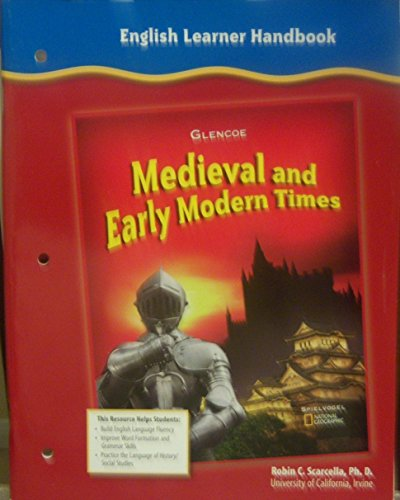 9780078702525: English Learner Handbook (Medieval and Early Modern Times)