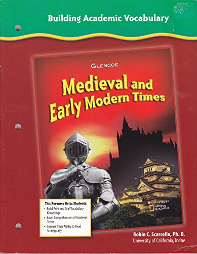 Building Academic Vocabulary (Medieval and Early Modern Times): Robin C. Scarcella, Ph.D.