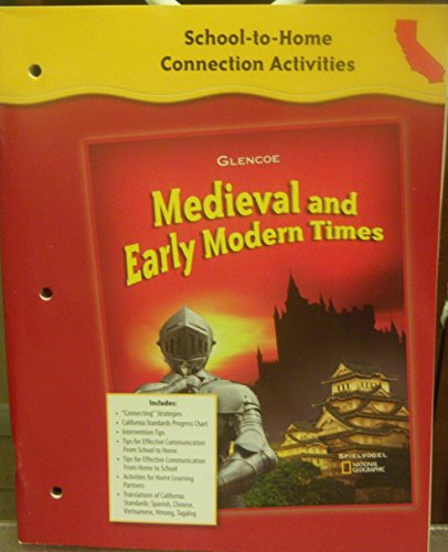 9780078702624: School-to-Home Connection Activities (Medieval and Early Modern Times)