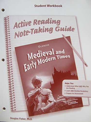 9780078702662: Medieval And Early Modern Times: Activities Readers