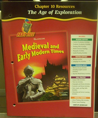 9780078702686: The Age of Exploration (Medieval and Early Modern Times, Chapter 10 Resources)
