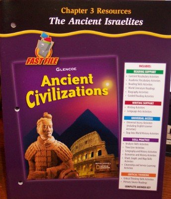 9780078702952: Chapter 3 Resources: The Ancient Israelites (Ancient Civilizations)