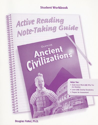 9780078703065: Ancient Civilizations Active Reading Note-Taking Guide