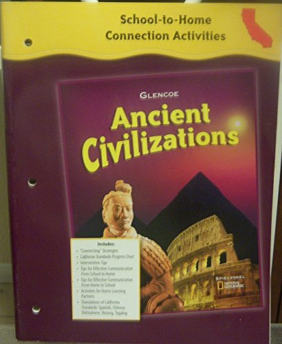 9780078703102: School-to-Home Connection Activities (Ancient Civilizations)