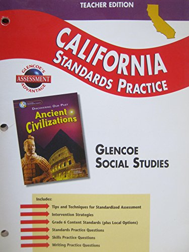 9780078703126: California Standards Practice TEACHER EDITION (Discovering Our Past: Ancient Civilizations)